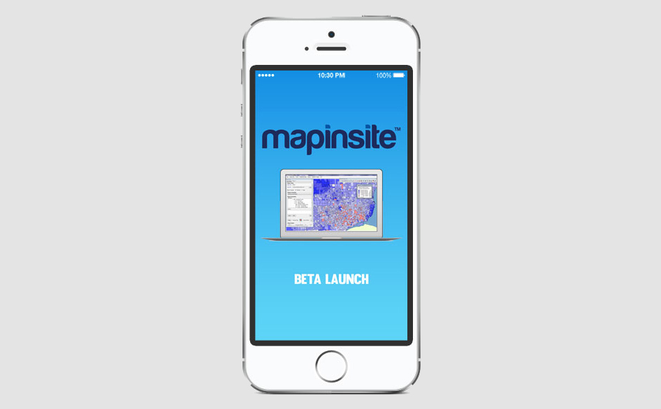 MapInSite Online Launch